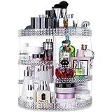 منظم أدوات التجميل من شركة أوينيا يدور 360 درجة، تخزين مكياج قابل للتعديل، وحدة تخزين مستحضرات التجميل ذات سعة كبيرة من 7 طبق