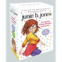 Junie B. Jones Complete First Grade Collection: Books 18-28 with paper dolls in boxed set