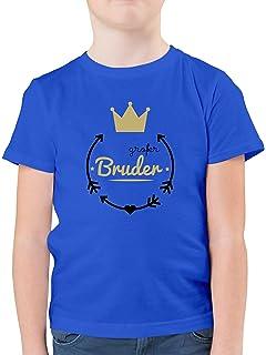 M/ädchen Kinder T-Shirt Krone Geschwister Schwester Gro/ße Schwester Shirtracer