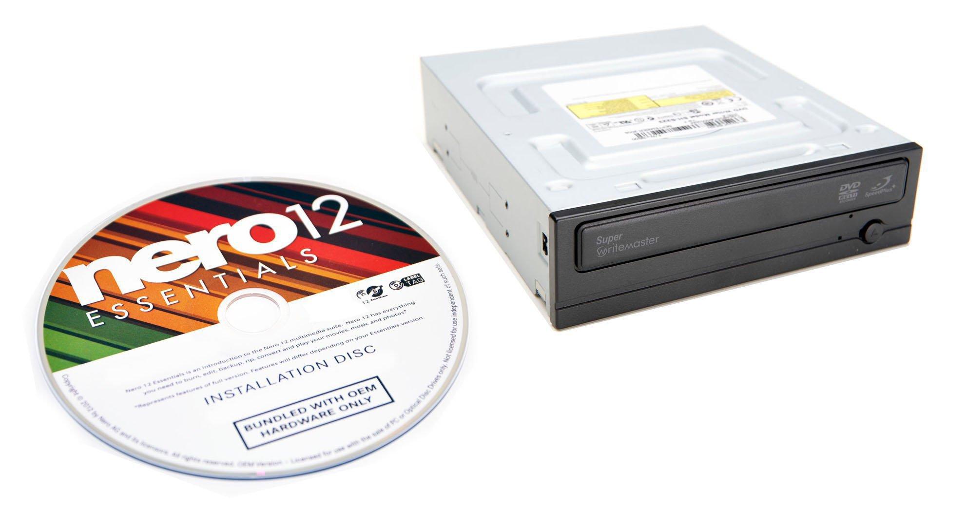 Bestduplicator Samsung 24x SATA masterizzatore DVD interno Drive sh-224db/bebe Bulk + nero Multimed