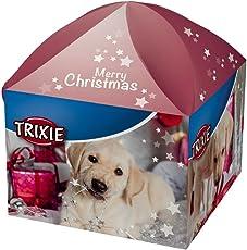 Trixie Xmas Geschenkbox mit Snacks für Hunde, 5 Teile, 1er Pack (1 x 300 g)