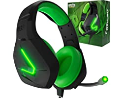 Orzly Gaming Headset for PC and Gaming Consoles PS5, PS4, XBOX SERIES X   S, XBOX ONE, Nintendo Switch & Google Stadia Stereo