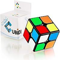 CUBIDI® Magic Cube 2x2x2 - Type Los Angeles - Speedcube avec caractéristiques de Rotation optimisées - sans étiquette…