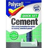 Polycell Quick Set Cement Polyfilla, 2 kg - Grijs