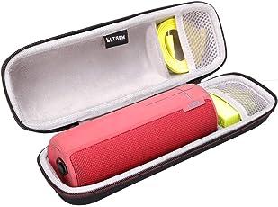 LTGEM EVA Hart Fall Reise Tragen Tasche für Ultimate Ears UE BOOM 2 Kabelloser und Bluetooth Lautsprecher.Passt USB-Kabel und Wand Ladegerät.