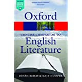 The Concise Oxford Companion to English Literature (Oxford Quick Reference)