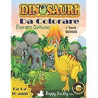 Dinosauri da colorare: Fantastiche immagini alla scoperta della preistoria. Scopri le attività e i bonus per allenare la…