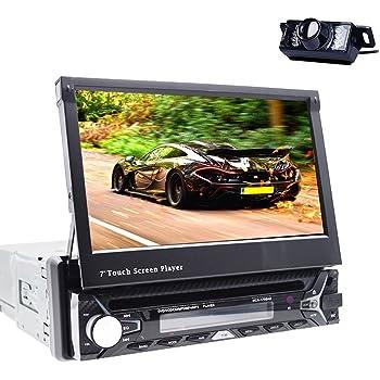 Reproductor multimedia para coche, Bluetooth, GPS, 1DIN, audio esté