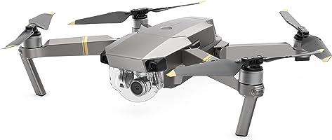 DJI - Mavic Pro Platinum (Version UE) | Drone Quadricoptère Portable & Pliable avec Caméra | Offre 30-Min de Vol |Gimbal 3-Axis & Caméra 4K | Design Élégant | Photos & Vidéos en Haute Résolution