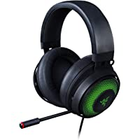 Razer Kraken Ultimate Cuffie On-Ear da Gioco USB per PC e Switch Dock con Audio Surround, Microfono ANC e RGB Chroma…