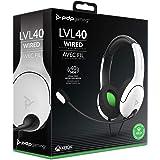 PDP Cuffie stereo LVL40 per Xbox bianco