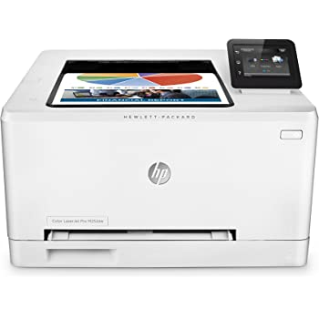 HP Color LaserJet Pro M252dw - Impresora láser (B/N 18 PPM, color 18 PPM, WiFi), color blanco