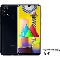 Samsung Galaxy M31 Smartphone (15,92 cm (6,4 Zoll) 64 GB interner Speicher, 6 GB RAM, Android, black) Deutsche Version - exklusiv bei Amazon