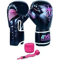 SAWANS/® Gants de boxe en cuir professionnel MMA Sparring Kickboxing Punch Sac dentra/înement Muay Thai combat