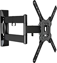 TV Wall Mount Bracket with Full Motion Swing out Tilt for Most 32-58 inches LED LCD OLED Plasma Flat Screen Monitor Up to 30kg