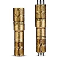 CIGARLOONG Poinçon de Cigare Double Lame Sharp Taille Perceuse Ouvre-Trou de Coupe Cigare