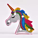 Unicorn Night Light for Kids Lampada Diamond Kit per bambini Lampada Unicorn Neon Sign