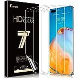 TAURI 3 Pack Screen Protector voor Huawei P40 Pro Geen Vloeistof Eenvoudige Installatie Max Dekking HD Clear TPU Flexibele Fi