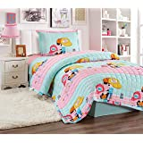 Compressed Comforter 3 Piece Set For Kids Single Size, B & G