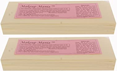 Makeup Mania Plain Waxing Strips - 140 Pieces (Ivory)