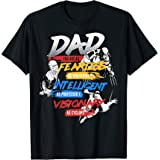 Marvel X-Men Dad You Are As Fearless As T-Shirt