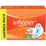 Whisper Choice Sanitary Pads for Women, 20 Napkins