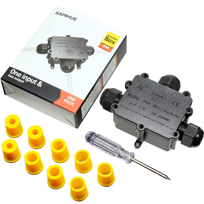 3 VIE 24 A 450 V IP68 impermeabile connettore del cavo elettrico filo Scatola di derivazione UK