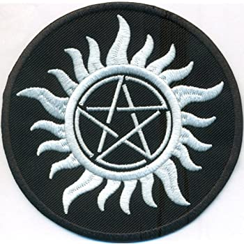Anti Possession Symbol Anti Demon Supernatural Witchcraft Iron On