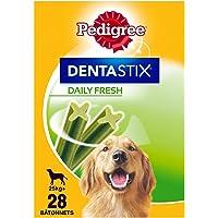 Pedigree Dentastix Fresh - Friandises pour grand chien, 28 bâtonnets à mâcher pour l'hygiène bucco-dentaire - lot de 4 x…