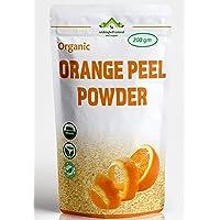 Wishingbell Natural Organic Orange Peel Powder For Face Skin Whitening 200 Grams. Citrus Aurantium Pure & Natural Face…