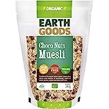 Earth Goods Organic Gluten-Free Choco Nuts Muesli, NON-GMO, Gluten- Free, VEGAN, 340g