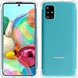 Migeec Cover per Samsung Galaxy A71 - Ibrido Cristallino Custodia Cuscino d'Aria Tecnologia paraurti in Gel Custodie telefoni