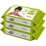 Little Angel Super Soft Baby Wipes 3 Packs of 72 Pieces