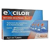 Excilor - Mycose des pieds 3 en 1