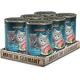 Leonardo Quality Selection [6x200g/400g/800g Multipack] | Getreidefreies Nassfutter für Katzen | Feuchtfutter Alleinfutter in 3 versch. Größen