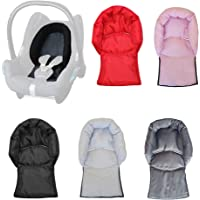 Aveanit Compatible with Maxi Cosi Baby Infant Car Seat Travel Neck Head Support Pillow Hugger Universal (Graphite - Waterproof)