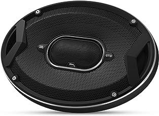 "JBL Car GTO 939 3x9"" (150 x 230 mm) 300 Watt 3-Wege Auto-Hifi Lautsprecher mit Lautsprecherabdeckung (1 Paar) - Schwarz"