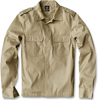 Brandit Us Hemd Langarm Camicia Uomo