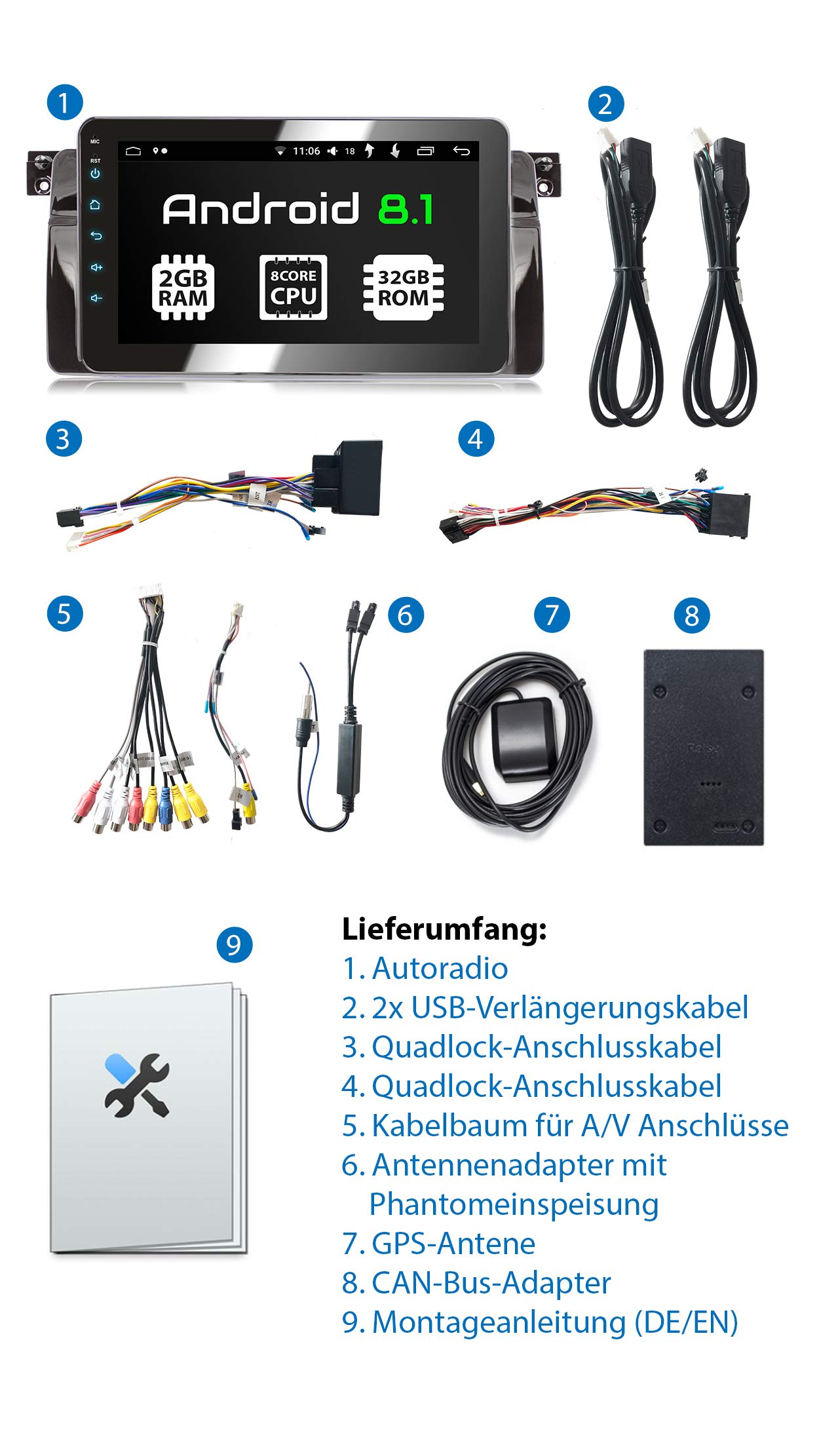 XOMAX-Autoradio-passend-fr-BMW-E46