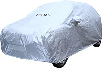 Amazon Brand - Solimo Hyundai i10 Waterproof Car Cover (Silver)