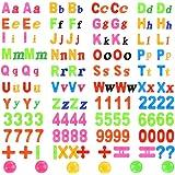 YOTINO 162 Piezas Letras y Números Magnéticos Alfabeto con Imanes de Pizarra Número de Juguetes educativos Juguetes Pegatinas