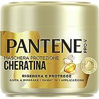 Pantene Pro-V Rigenera E Protegge Maschera Protezione Cheratina Aiuta a Riparare i Danni in 1 Applicazione, 500ml