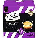 Carte Noire Café Espresso Intense, Capsules Compatibles Dolce Gusto, 6 Paquets de 16 capsules (96 Capsules)