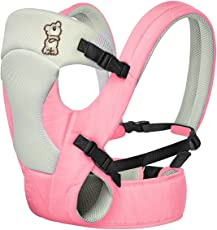 R For Rabbit New Cuddle Snuggle- Comfortable Baby Carrier (Pink Grey)