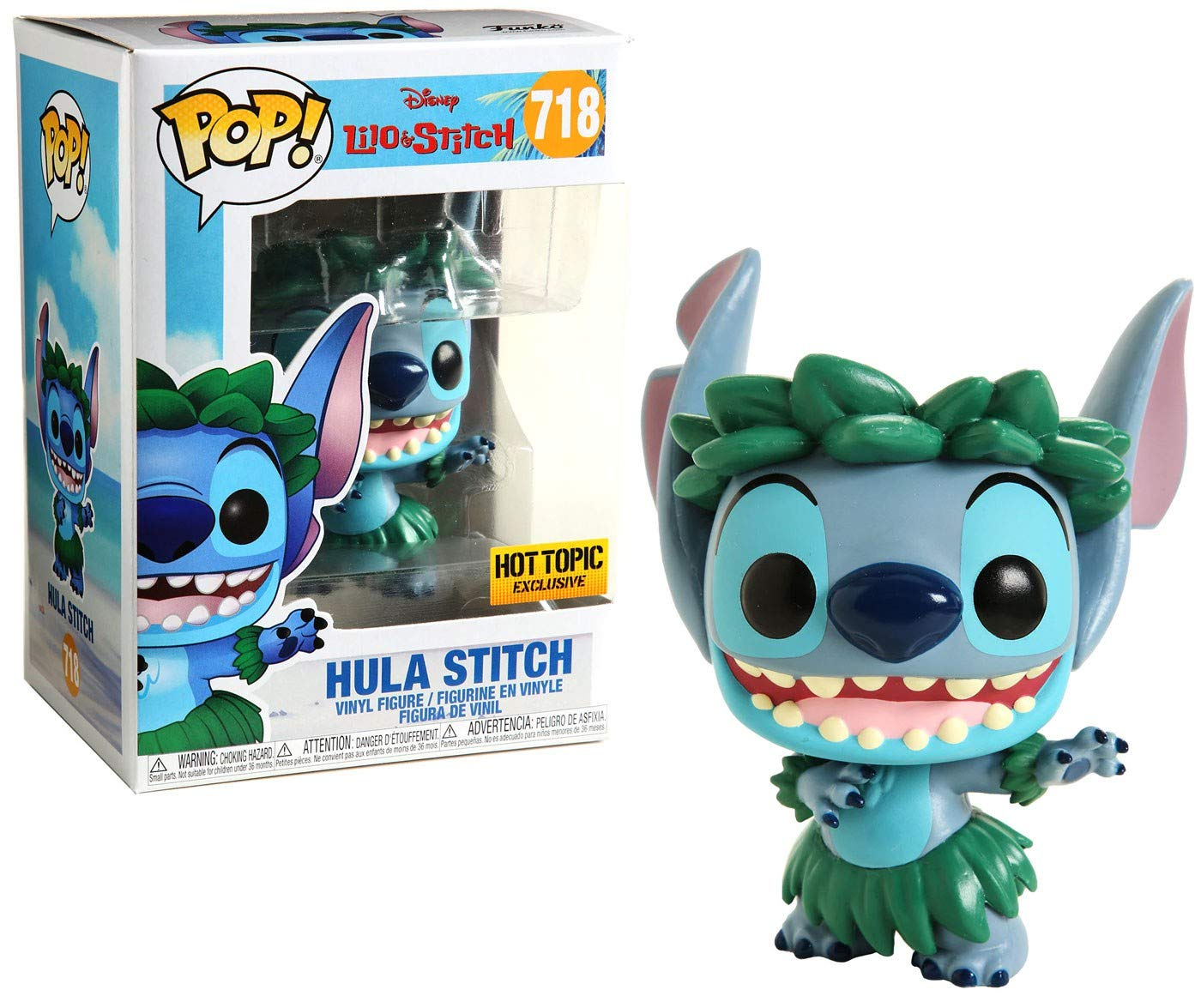 Funko Pop Stitch Hula (Lilo y Stitch 718) Funko Pop Disney