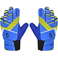 Sportout Kids Junior Goalkeeper Gloves, Boys and Girls Training Gloves with Double Wrist Protection and Non-slip Wear…