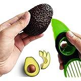 Premium Avocado Slicer - Avocado Peeler - Avocado Cutter 3-in-1 - Butter Fruit & Vegetable Cutter & Peeler - Knife Separator
