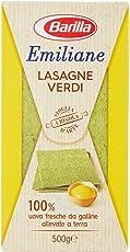 Emiliane Barilla, Lasagne Verdi n.200-5 pezzi da 500 g [2500 g]
