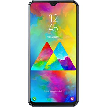 "Samsung Galaxy M20 Smartphone, Grigio (Charcoal Black), Display 6.3"", 64 GB Espandibili, Dual SIM [Versione Italiana]"