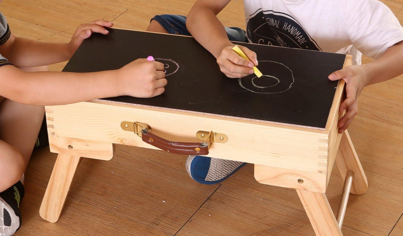 Tavoli Da Gioco Per Bambini : Fy light bambini pieghevole u2013 tavolo da gioco compatibile storage
